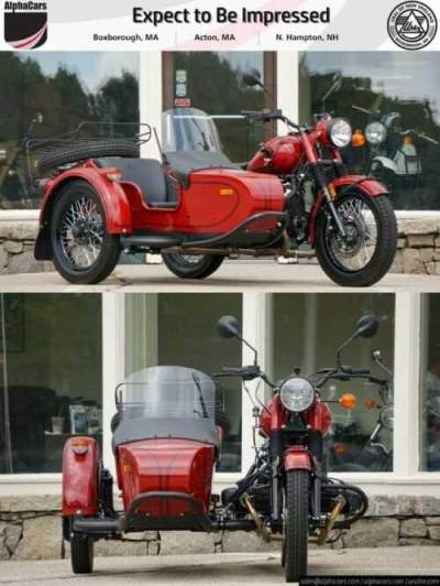 2018 Ural Retro Maroon Maroon for sale craigslist