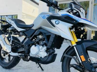 2019 BMW G 310 GS Pearl White Metallic Motorsport -- for sale craigslist