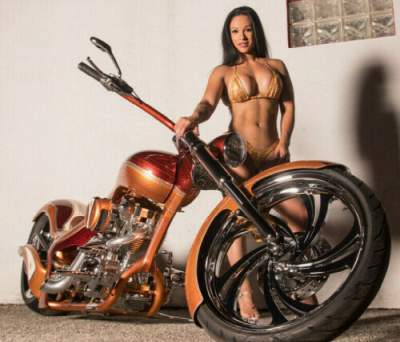 2019 Custom Built Motorcycles Chopper Orange for sale craigslist photo