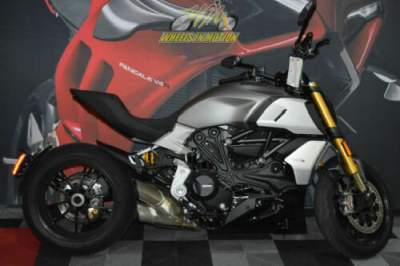 2019 Ducati Diavel 1260 S Sandstone Grey Gray for sale
