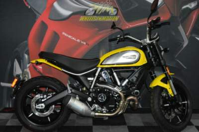 2019 Ducati Scrambler Icon 62 Yellow Yellow for sale craigslist photo