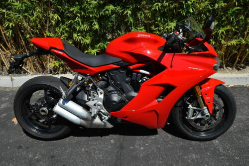 2019 Ducati SuperSport S Red Red for sale craigslist photo