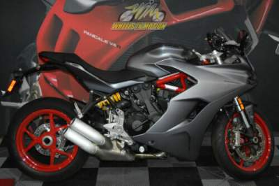 2019 Ducati SuperSport Gray for sale