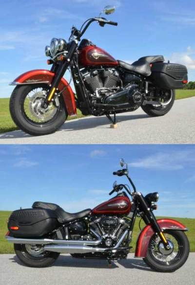 2019 Harley-Davidson 114ci HERITAGE CLASSIC ONLY 645 Mi NEW CONDITION for sale craigslist