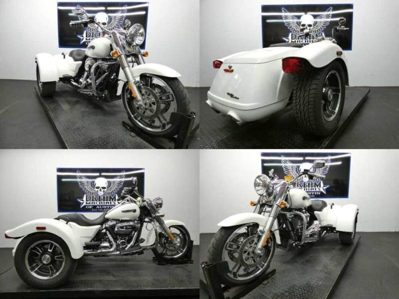 2019 Harley-Davidson FLRT - Freewheeler White for sale craigslist photo