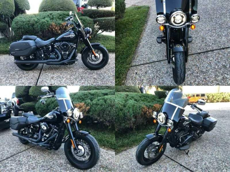 2019 Harley-Davidson Heritage Classic Black for sale craigslist photo