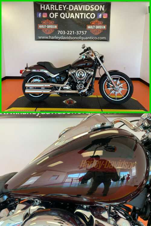 2019 Harley-Davidson Softail Low Rider Twisted Cherry for sale craigslist