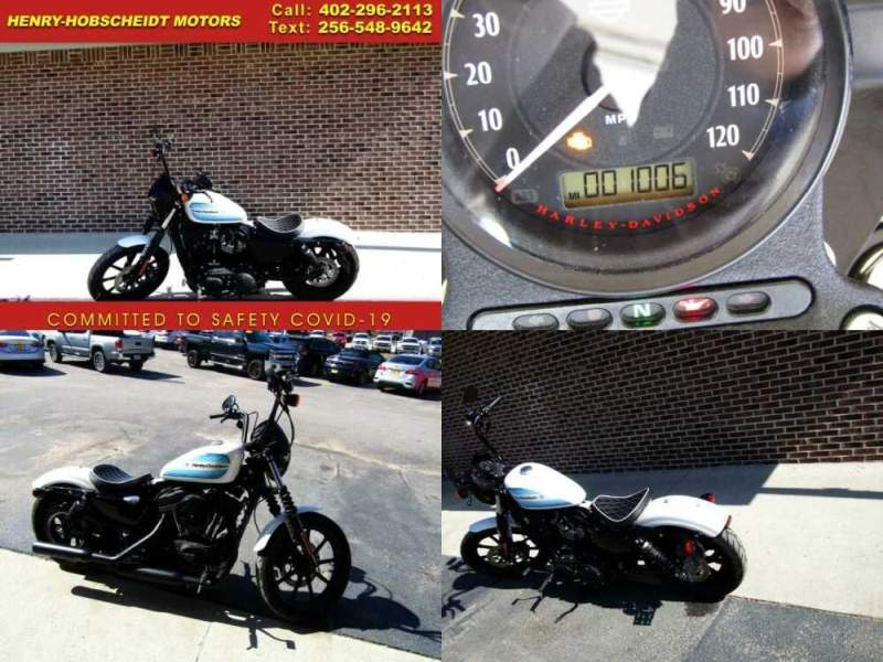 2019 Harley-Davidson Sportster Forty-Eight Special XL 1200 White for sale craigslist photo