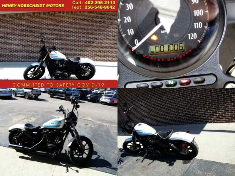 2019 Harley-Davidson Sportster Forty-Eight Special XL 1200 White for sale
