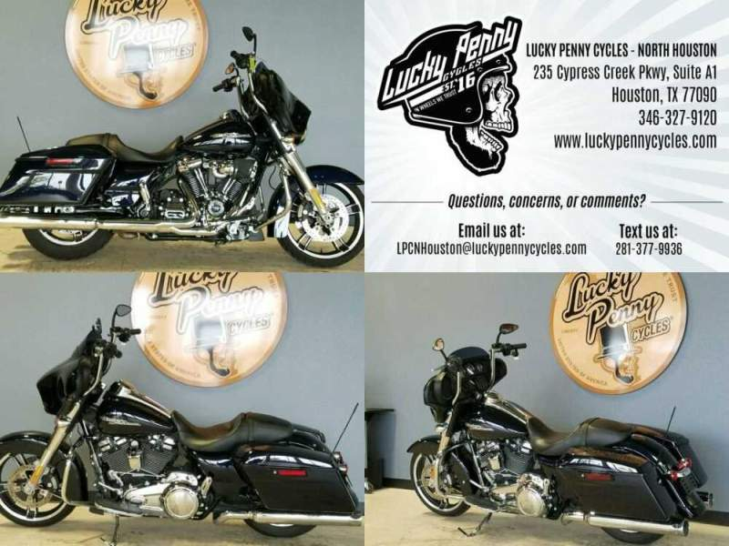 2019 Harley-Davidson Street Glide FLHX Blue for sale craigslist photo