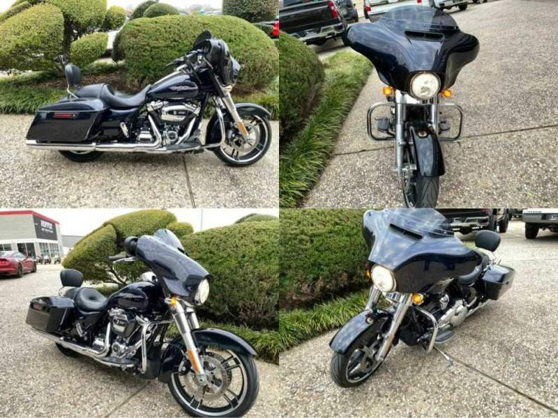 2019 Harley-Davidson Street Glide FLHX Blue for sale