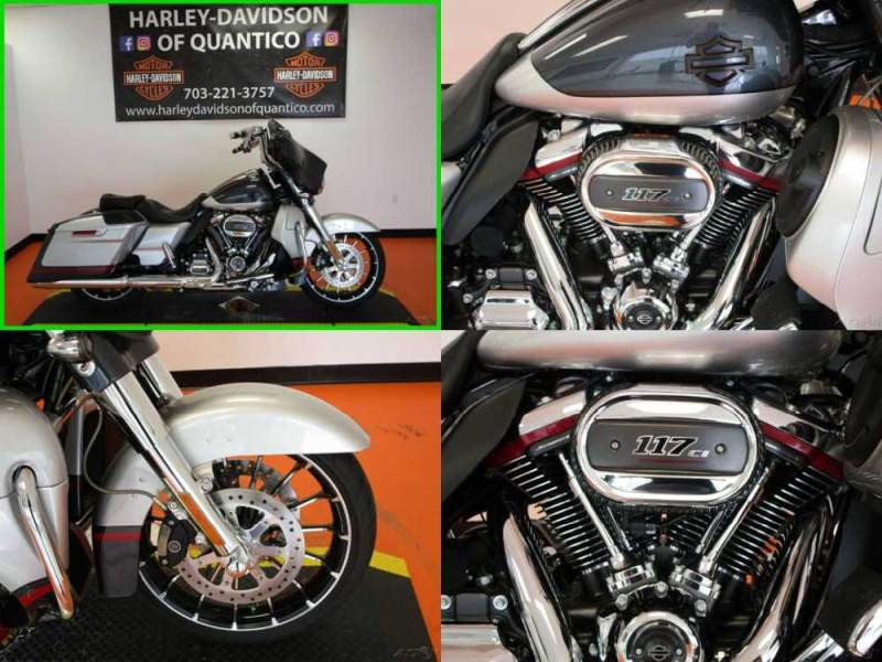 2019 Harley-Davidson Touring CVO Street Glide Charred Steel / Lightning Silver for sale craigslist photo
