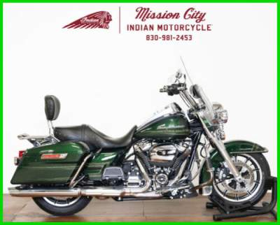2019 Harley-Davidson Touring Kinetic Green for sale craigslist photo