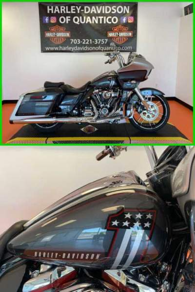 2019 Harley-Davidson Touring CVO Road Glide Lightning Silver / Charred Steel With Black Hole for sale craigslist