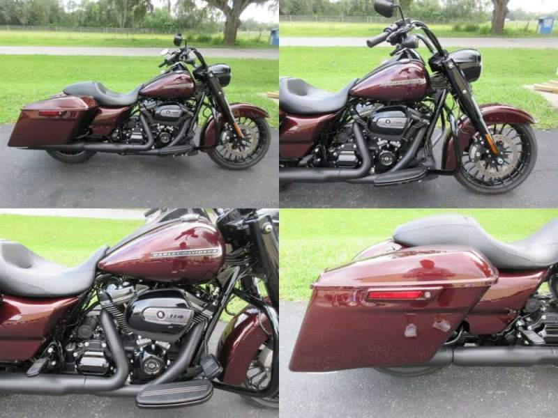 2019 Harley-Davidson Touring Road King® Special Maroon for sale craigslist photo