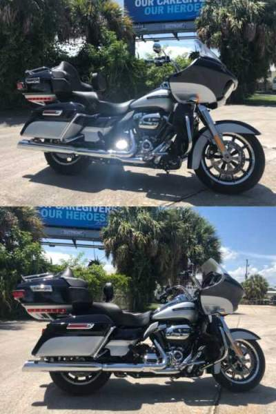 2019 Harley-Davidson Touring Midnight Blue Metallic / Barracuda Silver Metallic for sale craigslist