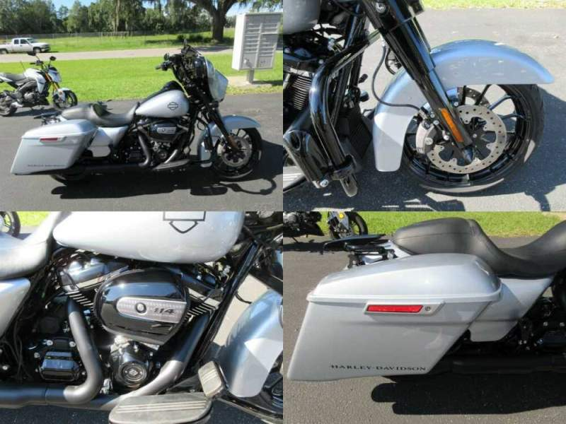 2019 Harley-Davidson Touring Special Silver for sale craigslist photo