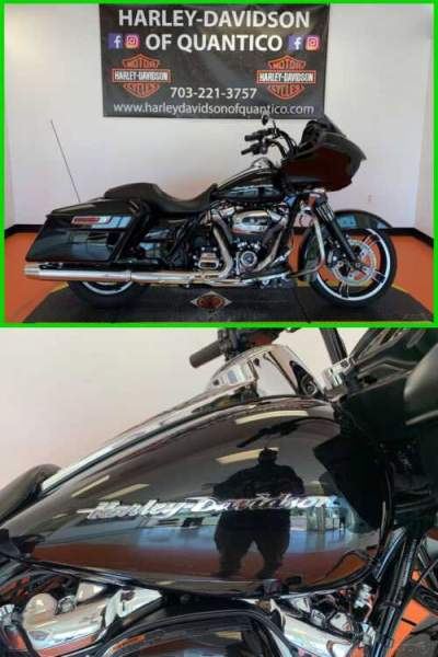 2019 Harley-Davidson Touring Road Glide Vivid Black for sale craigslist photo