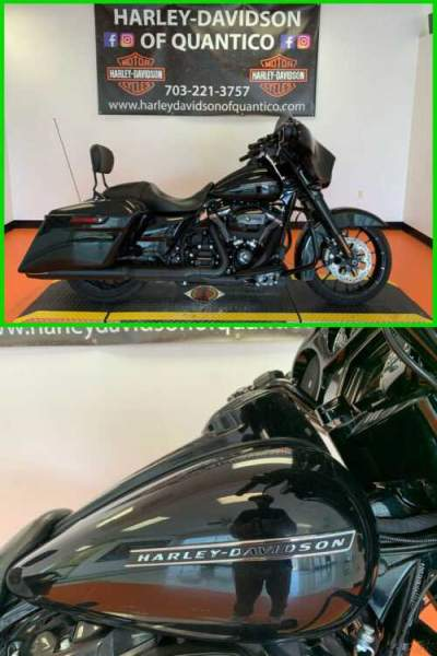 2019 Harley-Davidson Touring Street Glide Special Vivid Black for sale craigslist photo