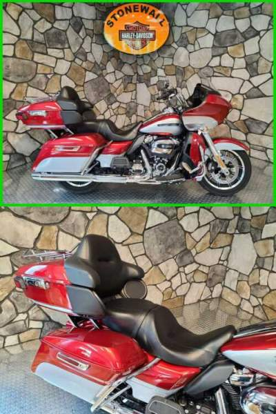 2019 Harley-Davidson Touring Road Glide Ultra Wicked Red / Barracuda Silver for sale craigslist photo
