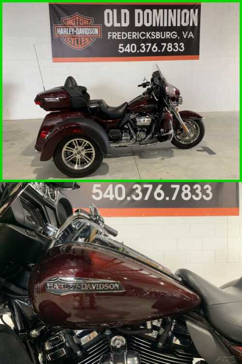 2019 Harley-Davidson Trike Tri Glide Ultra Twisted Cherry for sale