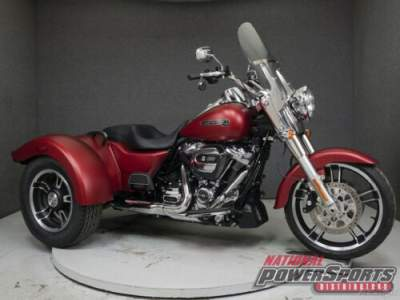 2019 Harley-Davidson Trike FLRT FREEWHEELER WABS WICKED RED DENIM for sale craigslist