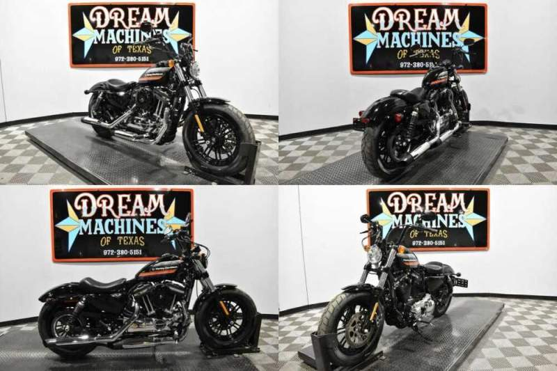 2019 Harley-Davidson XL 1200X - Sportster Forty-Eight Black for sale craigslist photo