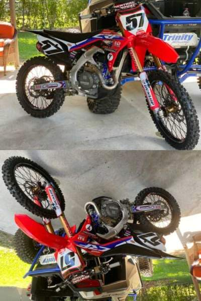 2019 Honda CRF Red for sale craigslist photo