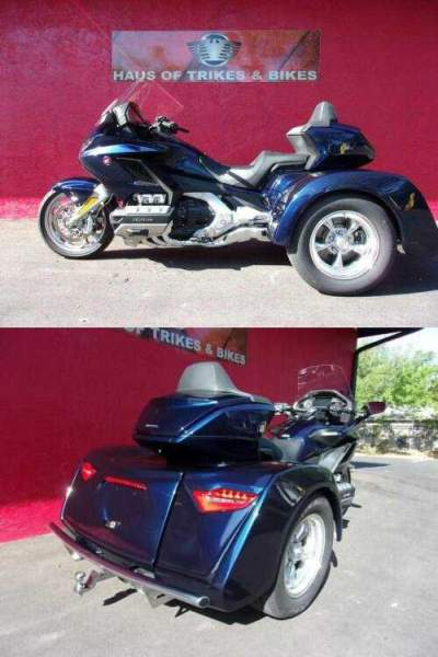 2019 Honda Gold Wing Blue for sale craigslist photo