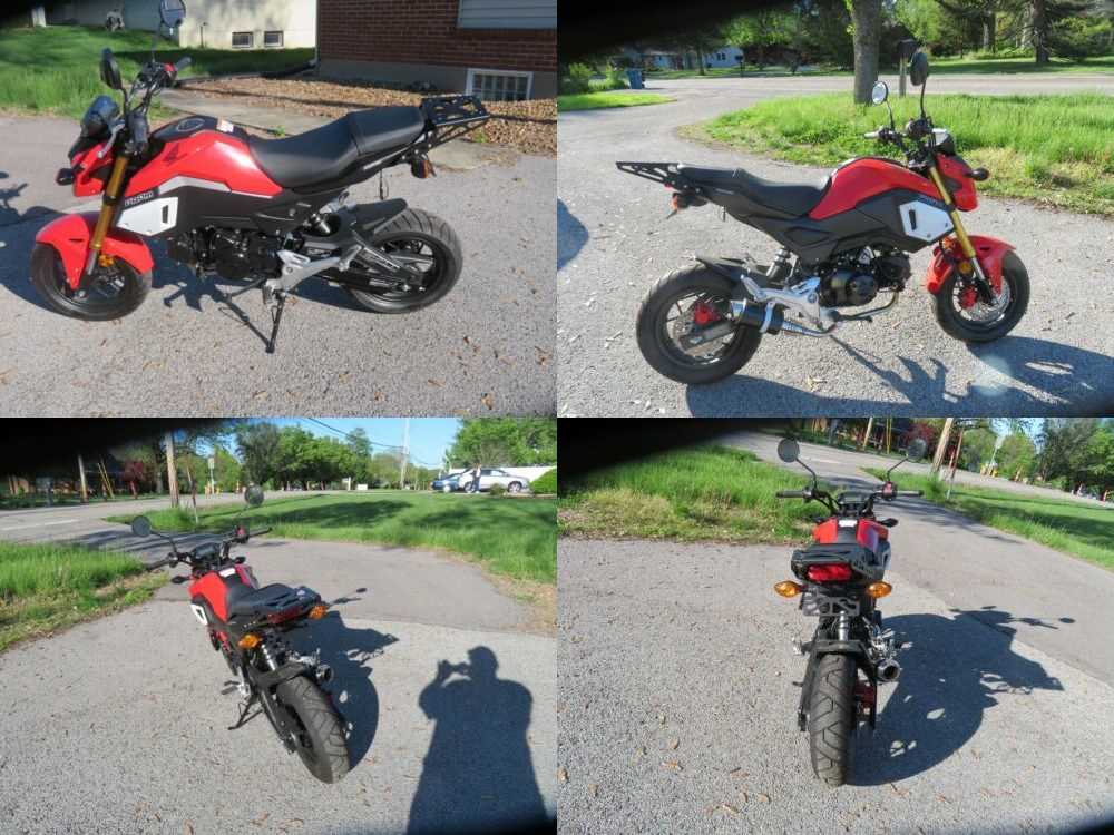 2019 Honda Grom Red for sale