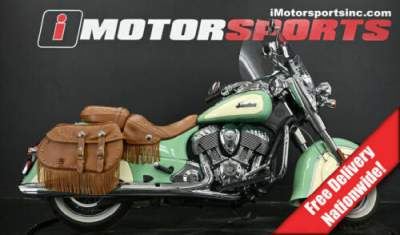 2019 Indian Chief Vintage Willow Green / Ivory Cream Green for sale