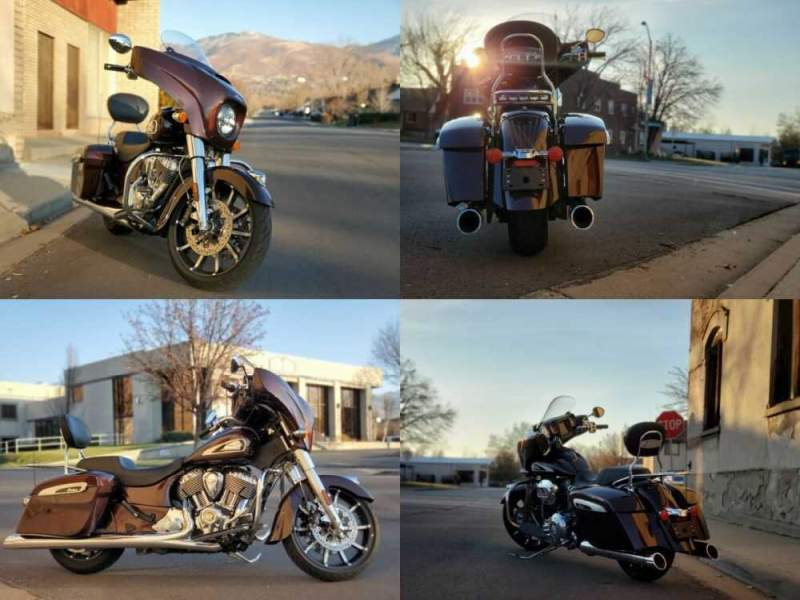 2019 Indian Chieftain Brown for sale craigslist photo