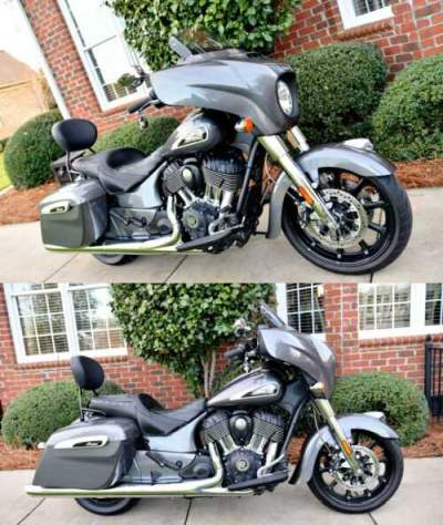 2019 Indian Chieftain Gray for sale