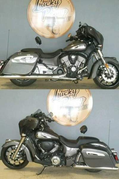 2019 Indian Chieftain Gray for sale craigslist