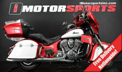2019 Indian Roadmaster Icon Series Ruby Metallic/Pearl White Red for sale