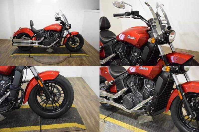 2019 Indian Scout® Sixty ABS Ruby Metallic for sale