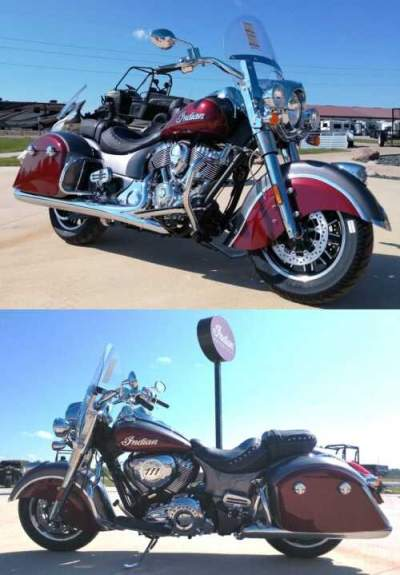 2019 Indian Springfield® ABS Burgundy for sale