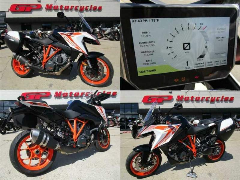 2019 KTM 1290 Super Duke GT Demo White for sale
