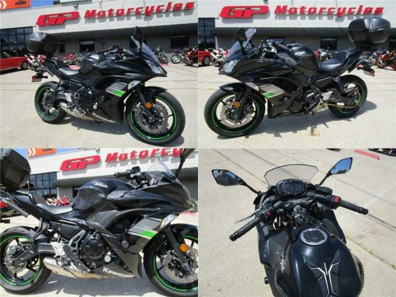 2019 Kawasaki Ninja 650 ABS Scratched Black for sale craigslist photo