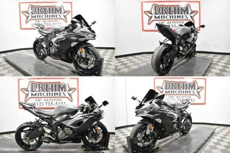 2019 Kawasaki Ninja Gray for sale craigslist photo