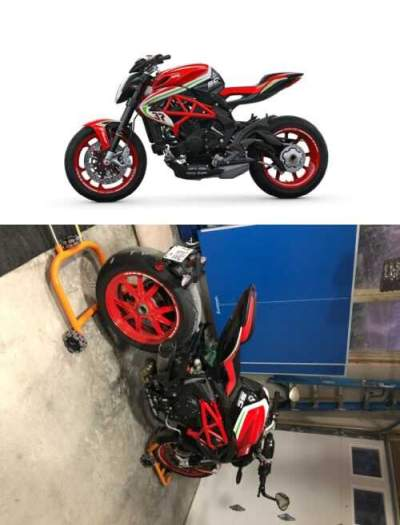 2019 MV Agusta MV AGUSTA BRUTALE 800 RC Red for sale craigslist photo