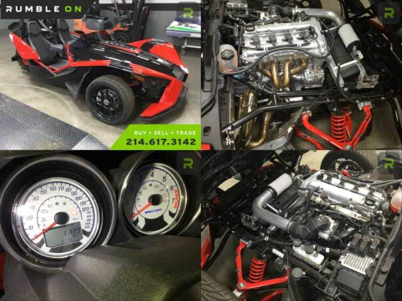2019 Polaris SLINGSHOT SLR CALL (877) 8-RUMBLE Red for sale craigslist photo