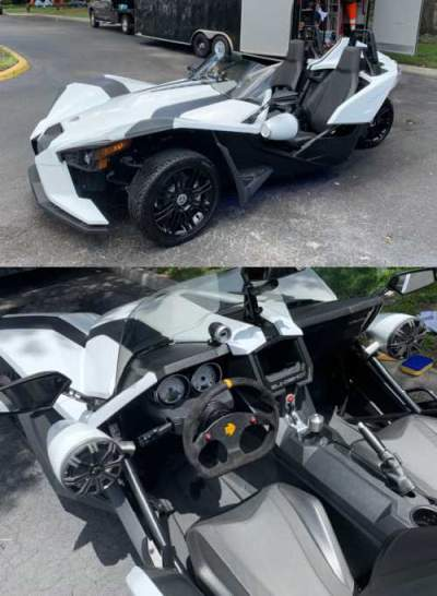 2019 Polaris Slingshot S White for sale craigslist photo