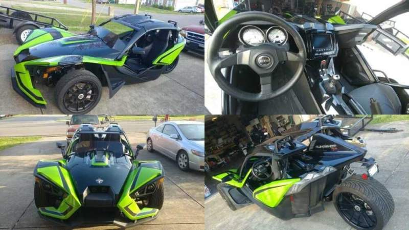 2019 Polaris Slingshot SLR ICON edition  for sale craigslist photo