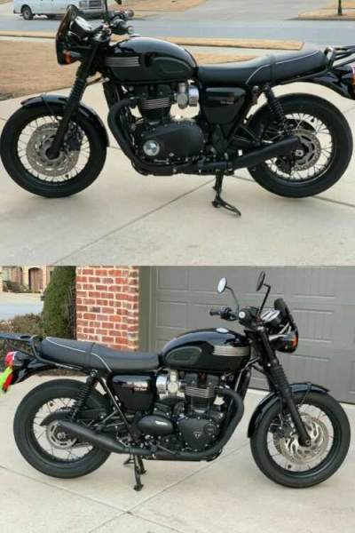 2019 Triumph Bonneville Black for sale craigslist photo