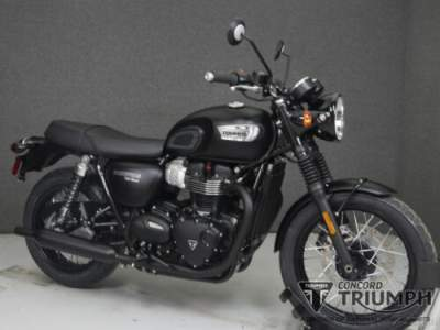2019 Triumph Bonneville Black MATT BLACK for sale craigslist