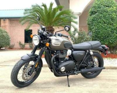 2019 Triumph Bonneville MATTE IRONSTONE/BLACK for sale craigslist photo