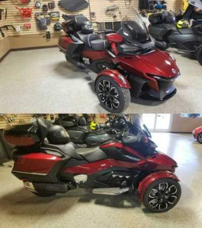 2020 Can-Am Spyder Burgundy for sale craigslist photo
