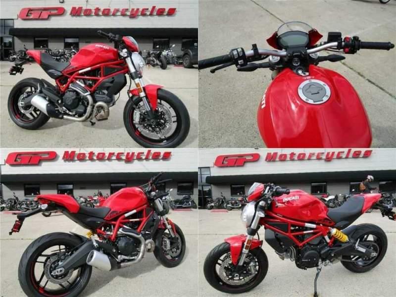 2020 Ducati Monster 797 Plus Red for sale craigslist