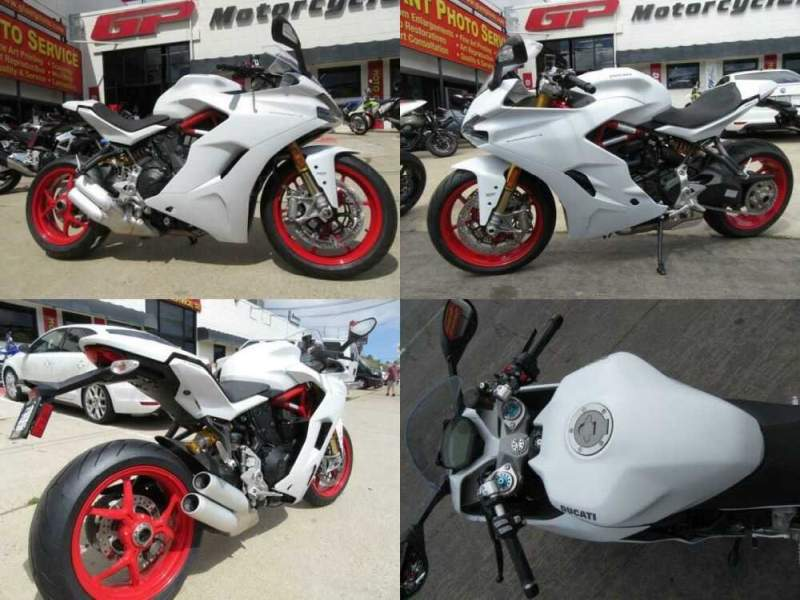 2020 Ducati SuperSport S White for sale
